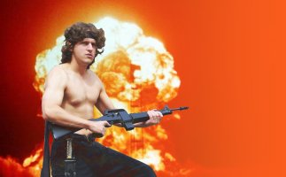Phil Hassey as Rambo